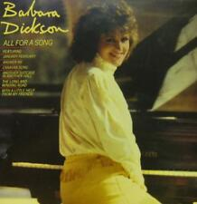Barbara Dickson(Vinyl LP)All For A Song-Epic-EPC 10030-UK-VG+/NM