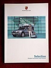 FOLLETO de selección de Porsche accesorios de estilo de vida de Porsche 2002/03