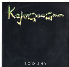 """Kajagoogoo - Too Shy 7"""" Single 1982"""