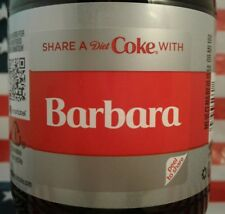 Share A Coke With Barbara 2018 Limited Edition Diet Coca Cola Bottle