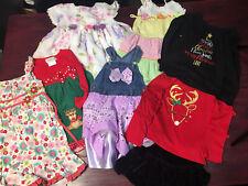 Lot Of 9 Girls Clothing Sz 4T 5T 6T Dress Shirt Skirt