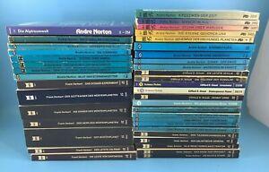 40x Frank Herbert/Andre Norton /Asimov Science Fiction Taschenbuch Sammlung