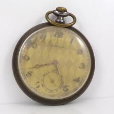 WORKS Antique A Moser & co Open Face Pocket Watch QYD9