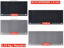 PAVIMENTO PVC GRECATO COPRIPAVIMENTO GRIGIO - NERO a Mquadro HIGH QUALITY