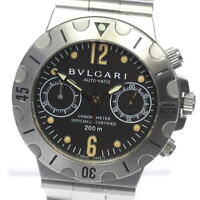 BVLGARI Diagono Scuba Chronograph SCB38S Automatic Men's Watch_491086