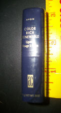 AVON Spring Fling Color Rich Renewable Lipstick NEW Sealed  .13 oz