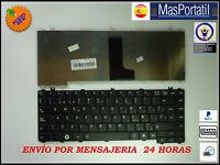 TECLADO ESPAÑOL NUEVO PORTATIL TOSHIBA SATELLITE C645 C645D V000230320  TEC27
