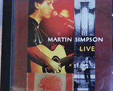 Live by Martin Simpson (CD,1997, Red House Records) Excellent condition