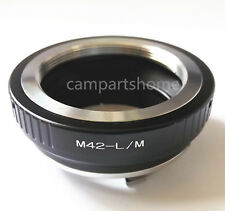 M42 Screw Lens to Leica M LM Mount Adapter for M9 M8 M7 M6 M5 M4 M3 Ricoh GXR-M