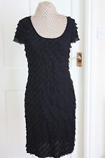 Soon Unusual Size 12 Black Straight Stretchy Party Cocktail dress Hardly worn