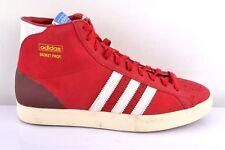 Adidas Basket Profi G60894 Herren Turnschuhe Schuhe Sneaker  Rot Weiß Gr. 42 2/3