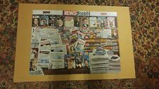 000 Newsstand 2001 2011 Puzzel Put together Mounted on Board Wall Hanging