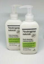 2-Pack Neutrogena Naturals Fresh Cleansing And Makeup Remover, 6 fl. oz