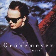 """HERBERT GRÖNEMEYER """"LUXUS (ENGLISH VERSION)"""" CD NEU"""