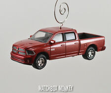 2014 Dodge RAM Sport 1500 Quad Cab Truck Christmas Ornament 5.7 V8 HEMI Pickup