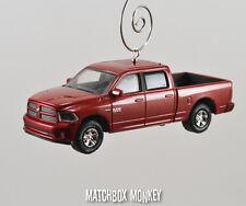 2014 Dodge RAM Sport 1500 Quad Cab Truck Christmas Ornament 5.7 V8 HEMI Pickup