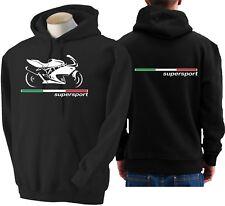 Felpa moto DUCATI SUPERSPORT 2004 hoodie sweatshirt bike hoody hooded sweater