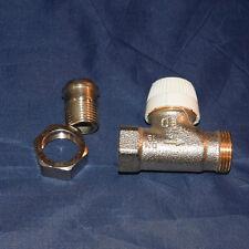 Buderus Heizkörper-Thermostatventil-Unterteil 1/2 M30x1,5mm Durchgang (170)