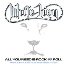 WHITE LION  All You Need Is Rock 'N' Roll (Box Set 2020) 5 CD NEU & OVP 18.09.20