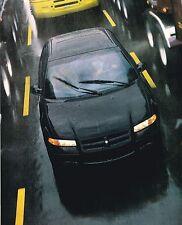 BIG 1996 Dodge STRATUS Brochure / Catalog with Color Chart: ES, DOHC