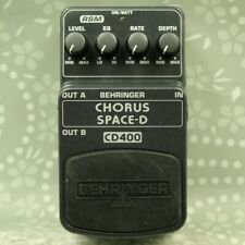 Behringer CD400 CHORUS SPACE-D Guitar effect pedal (S1100584514)