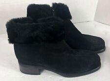 La Canadienne women's boots 8M Black Leather 6550
