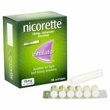 Nicorette Inhalator Nicotine 15 mg 36 Cartridges Expiry = May 2022