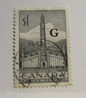 CANADA  Scott #O32 Θ used BOB G government overprint, cds fine + 102 card