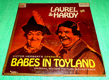 MADE IN U.S.A.:LAUREL AND HARDY - BABES IN TOYLAND,LP ALBUM,RARE