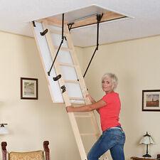 Gedämmte Bodentreppe Dachbodentreppe 120 x 60 Holztreppe Speichertreppe Treppe