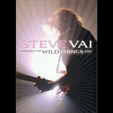 Steve Vai - Where the Wild Things Are [New DVD]