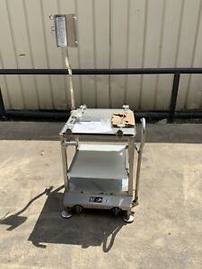 Face To Face Slicer Deli Buddy Mobile Stainless Cart new in crate bizerba hobart