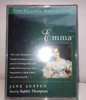 Emma by Jane Austen Abridged Read By Sophie Thompson, Two Audio CASSETTES