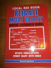 Reigate, Banstead by Estate Publications (Paperback, 1994) local red book