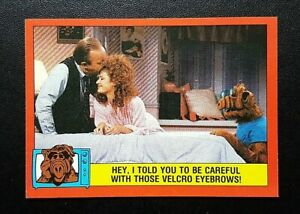 1988 Topps ALF Card 2nd Series - #78 Hey, I Told You To Be Careful