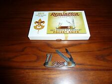 Remington Boy Scout 2011 Collectors Edition Folding Knife RS4773 R6 Rare, Nice!