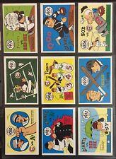 1970 Fleer Laughlin Baseball World Series 66-Card Complete Set EX-MT