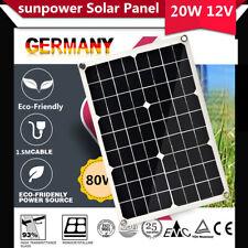 40W Hochleistungs Solarmodul flexibel Solarzelle Solarpanel für Garten