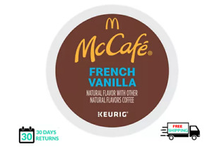Mccafe French Vanilla Keurig Coffee K-cups YOU PICK THE SIZE