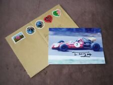 Francois MAZET - original autogramm, Brabham, Foto 13x18 cm
