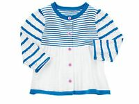GYMBOREE HIPPOS AND BOWS INFANT GIRLS CARDIGAN SWEATERS - 12-18 MONTHS