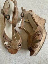 Dune Tan Wedges - Size 5*