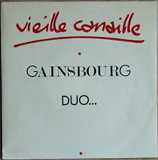 "GAINSBOURG DUO... ""VIEILLE CANAILLE""  45T  2 Titres"
