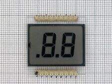 SHELLY 95200-04 2-DIGITS 7-SEGMENT LCD DISPLAY GLASS (4 PCS)