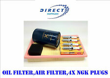 SERVICE KIT FORD FOCUS 98-04 1.4 1.6 1.8 AIR/OIL FILTERS & NGK SPARK PLUGS
