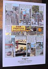 JUILLARD. 1987. Affiche pour l'Agence de Communication TORRENT. 42 x 61 cm