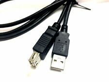 6 ft long USB Extention cable cord six foot Extension