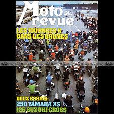 MOTO REVUE 2306 YAMAHA XS 250 SUZUKI 125 RM B HARLEY MX 250 SUZUKI GS 550 1977