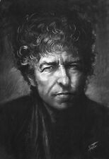 Bob Dylan, art print on archive paper by Star