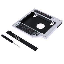 """SATA 2.5"""" HDD Festplatten Caddy Einbau Rahmen Adapter 12,7mm Laptop Zubehör"""